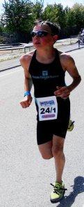 Torák Levente (TTT) negyedikként kezdhette meg a futást.