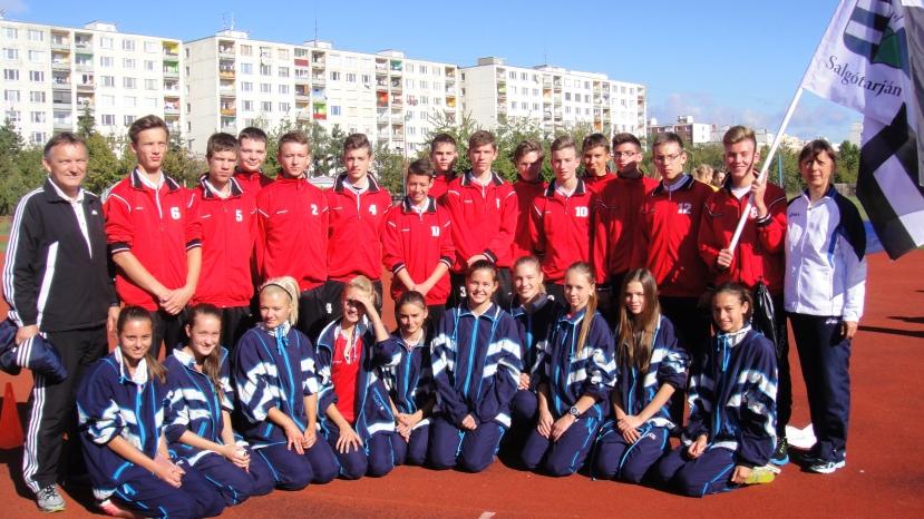 A salgótarjáni csapat felkészültsége második helyet ért.