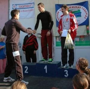 Egri Balázs (SAC) pályacsúccsal nyert a rövidebb távon.
