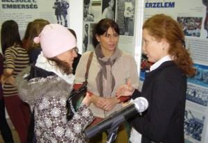 Előttünk az utódunk? Papp Ildikó (balra) követheti Bereczki Brigitta (középen) és Bekecs Zsuzsanna példáját.