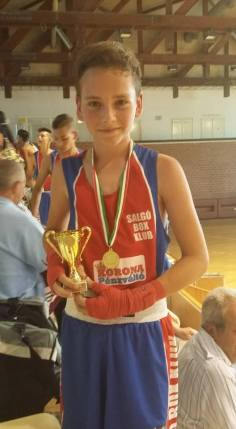 Élete első meccsén Horváth Levente győzni tudott.