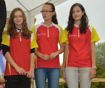 Biedermann Adrianna, Fésűs Evelin Anna, Goldman Júlia (Dornyay) a junior nőknél országos csapatbajnoki címet szerzett