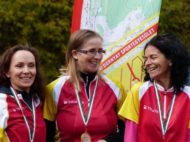Szenior I. nőknél bajnoki címet szerzett a Dornyay triója