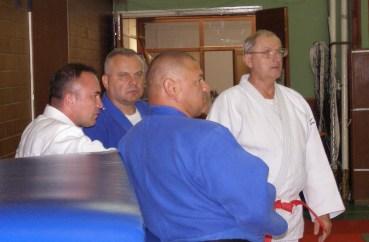 Kovács Gábor (jobbra) Salgótarjánban adja át tapasztalatait.