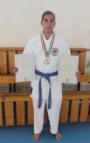 A bátonyterenyeiek Szomora Leontia révén két bronzérmes helyezést  szereztek