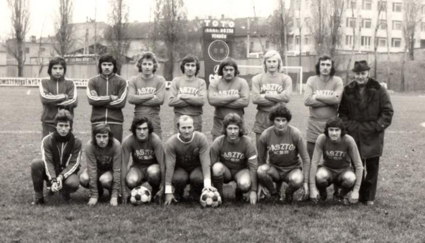 Vasas-Pásztó Fáy u 1976 nov 18