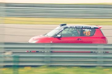 Sikeresen tért vissza a sportágba a tarjáni autóversenyző