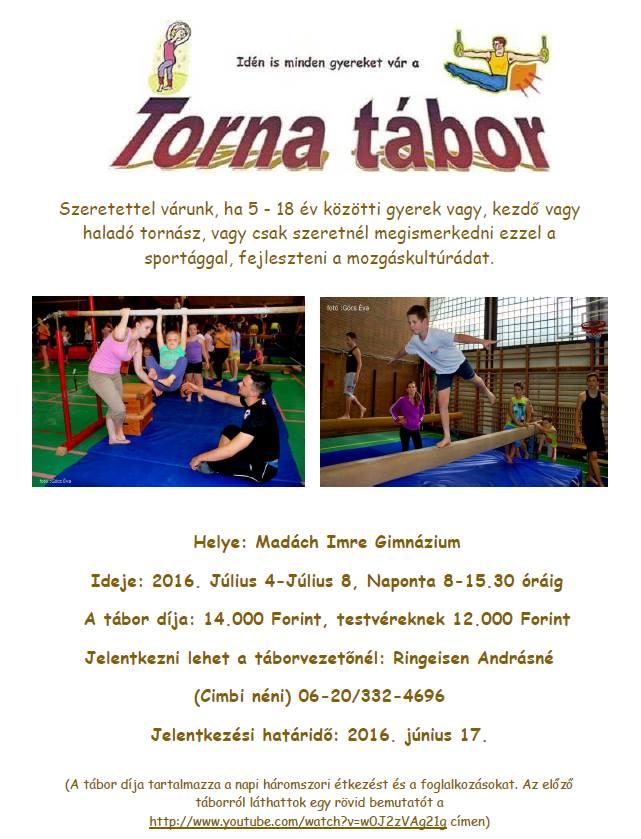 torna tábor plakát 16