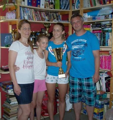 A kállói sportos Nagy család 1