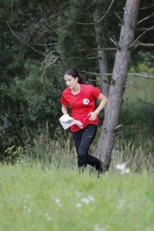 Goldmann Júlia verseny közben