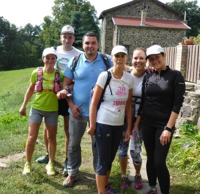 2 Ágasváron féltávnál volták a 30 km-es túra pásztói részvevői